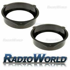 "Audi A2 & A4 Speaker Adaptor Rings Front + Rear Doors 6.5"" 16.5cm 165mm SAK-1107"