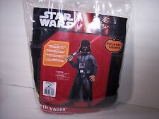 STAR WARS DARTH VADER KIDS COSTUME SIZE SMALL 4-6 NEW FREE SHIPPING / DISNEY