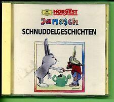 Janosch--Schnuddelgeschichten -- Hörspiel -- CD --