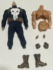 Mezco Bootleg Mezko One:12 Commander Rogers Punisher Body Custom Blue Skull Suit