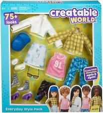 Mattel Creatable World Everyday Style Pack ES-619 Doll Clothes & Accessories New