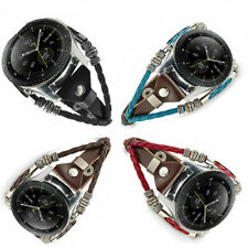 Leather Strap Belt Watch Band For Samsung Gear S3 Classic /Galaxy Watch 46mm