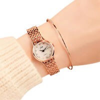 Fashion Women Quartz Analog Wrist Watch Luxury Business Stainless Steel Watches