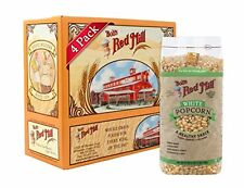 NEW Bobs Red Mill White Corn Popcorn 27 Ounce Pack of 4 FREE SHIPPING