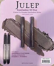 New ! Julep Eyeshadow 101 Duo Sticks Taupe Shimmer & Stone