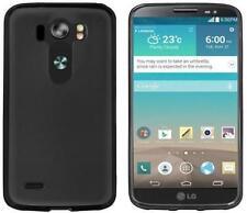 Étuis, housses et coques noirs brillants pour téléphone mobile et assistant personnel (PDA) LG
