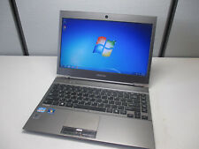 "Toshiba Portege Z830 13.3"" Laptop i5-2577M 1.7Ghz 6GB 128GB SSD Webcam Bluetooth"
