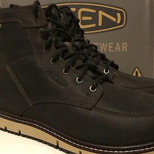 """NEW KEEN Utility Men's Size 9.5 Wide San Jose 6"""" Alloy Toe WP Work Boot 1022106"""