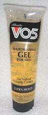 Alberto VO5 Natural Control HAIRDRESSING GEL Men Extra Hold 4.5 oz/127.6g New