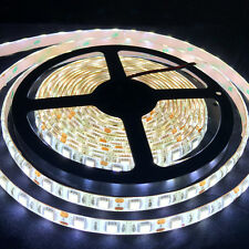Natural White 5M 5050 SMD 300 LED Waterproof Flexible DC 12V Led Strip Light car