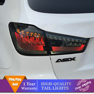 New LED Taillights Assembly For Mitsubishi ASX Dark/Red LED Rear lights 13-15