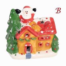 Christmas Decoration Battery Operated Flashing LED House - B