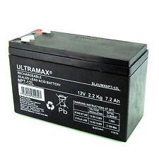 More details for ultra max np7-12l 12v 7ah sealed lead acid rechargeable sla industrial battery