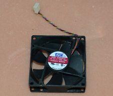 AVC DL08025R12U  80mm x 80mm x 25mm Cooler Cooling Fan PWM 12V 0.5A 4Pin