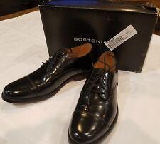 Bostonian Men's Kinnon Cap Toe Oxfords Black Leather sz 9.5 and 8 different size