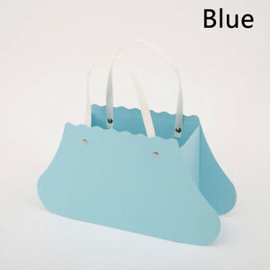 1PC Flower Carrier Boxes Bouquet Tote Bag Wedding Banquet Gift Packaging Box