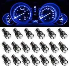 20X Blue T5 74 2721 LED Bulbs Speedometer Dash Gauge Light 17 18 37 70 3SMD