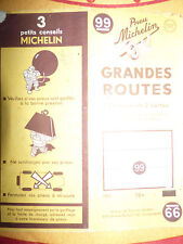 Carte  michelin 99 grandes routes  france sud 1951