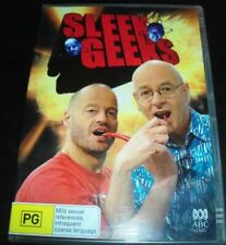 Sleek Geeks Series 1 (Dr Karl Kruszelnicki Adam Spencer) (Aust Reg 4) DVD – New
