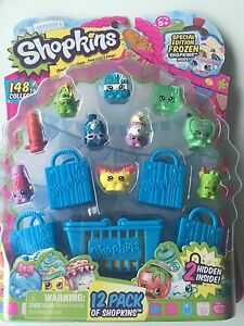 SHOPKINS SEASON 1 SERIES 1-12 PACK Special Edition Frozen Hard to Find Collect F