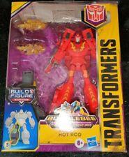 Transformers Bumblebee Cyberverse Adventures Deluxe HOT ROD MACCADAM BAF INSTOCK