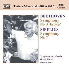 Georg Tintner, Ludwig van Beethoven - Tintner Memorial 6 [New CD]