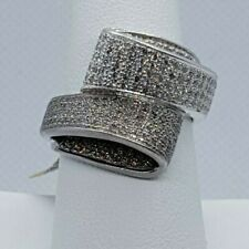 18K White Gold Chocolate Diamond Micro Pave' Right Hand Ring