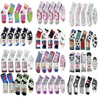 180 Pairs Children's Girls Socks Kids Mixed Sizes Wholesale Job lot