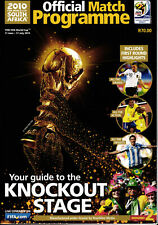 WM 2010 World Cup Official Programme - Südafrika - Knockout Stage