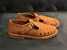 Vintage Esprit Suede Leather Mary Jane Shoes Size 6