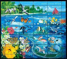 COCOS ISLANDS 331 SG364-83 Used 1999 Flora & Fauna sheet Cat$17