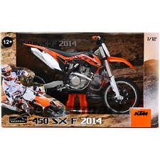 AUTOMAXX 603002 1:12 2014 KTM 450 SXF DIECAST MOTORCROSS SUPERCROSS MOTORCYCLE