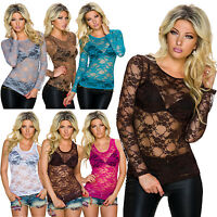 Ladies Lace Vest Tank Top | SEXY SEE THROUGH DESIGN | Cute Summer Holiday Party