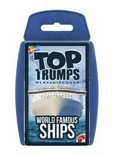 TOP TRUMPS WORLD FAMOUS SHIPS CARD GAME BRAND NEW