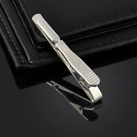 Gentleman Elegant Stainless Party Wedding Necktie Tie Bar Clasp Clip Clamp Pin