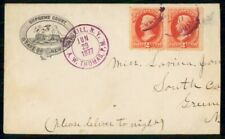Mayfairstamps US 1877 Catskill NY Supreme Court Advertising Cover wwf47585