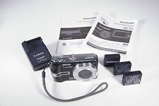 Lumix DMC-TZ3 7.2 MP Black Digital Camera Excellent+