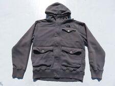 Mens The NORTH FACE Gray Thick Sweater Pocket Hoody Baclava Jacket Medium