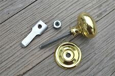 QUALITY ENGLISH MADE BRASS CUPBOARD CABINET TURN KNOB LATCH DOOR LATCH CB15