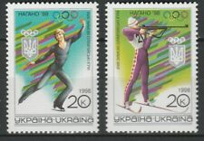 Ukraine 1998 Olympic Games - Nagano 2 MNH stamps