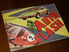 ALBUM FIGURINE AUTO FLASH Ed. IMPERIA 1972 NON COMPLETO - OTTIMO + !!