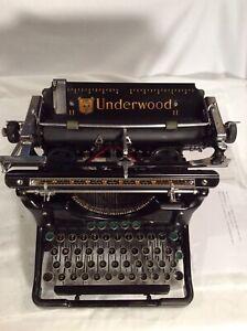 Vintage 1935 Underwood Standard Champion Typewriter-Tabulator, V/Nice Types Grt.