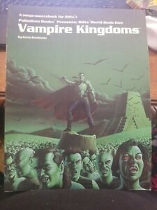 Rifts World Book 1 Vampire Kingdoms Palladium Books