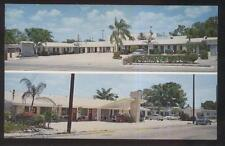 Postcard Titusville Florida/Fl Town Tourist Motel Motor Court view 1950's