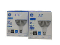 Set Of 2 General Electric LED Dimmable 32 Watts 40 Degree Flood Light Lightbulbs