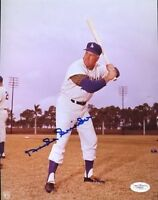 Duke Snider Signed Jsa Certed 8x10 Photo Autograph Authentic