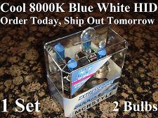 VW GOLF H7 HID HEADLIGHT 2006 2005 2004 2003 2002 2001 8000K Xenon Blue Bulbs