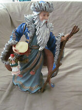 "Duncan Royale 12"" Santa Claus Mongolian Figurine w/Original Box & Packaging Euc"