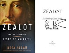 Reza Aslan~SIGNED~Zealot: The Life and Times of Jesus of Nazareth 1st Ed+Photos!