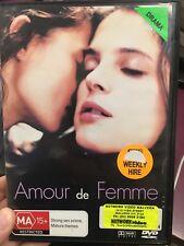 Amour De Femme ex-rental region 4  DVD (2001 French movie) * rare *